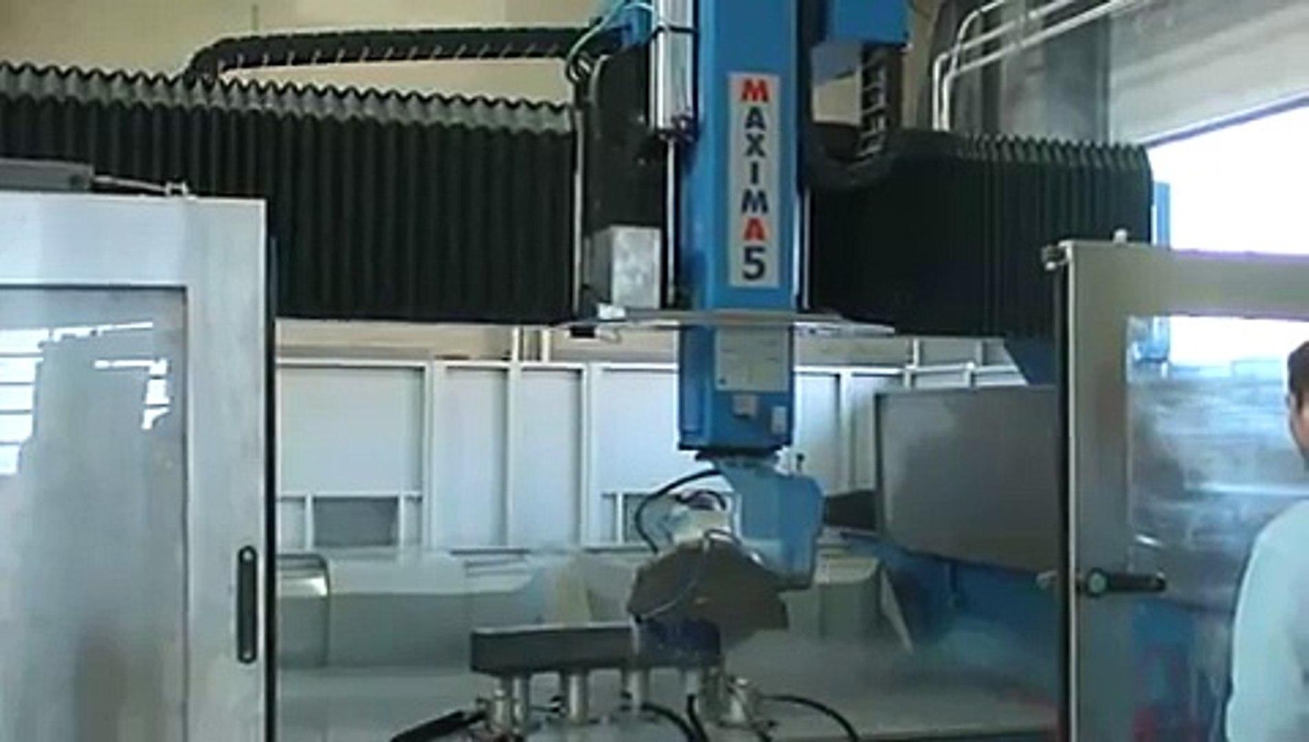 CMS Brembana MAXIMA 5 Axis Profiling with blade