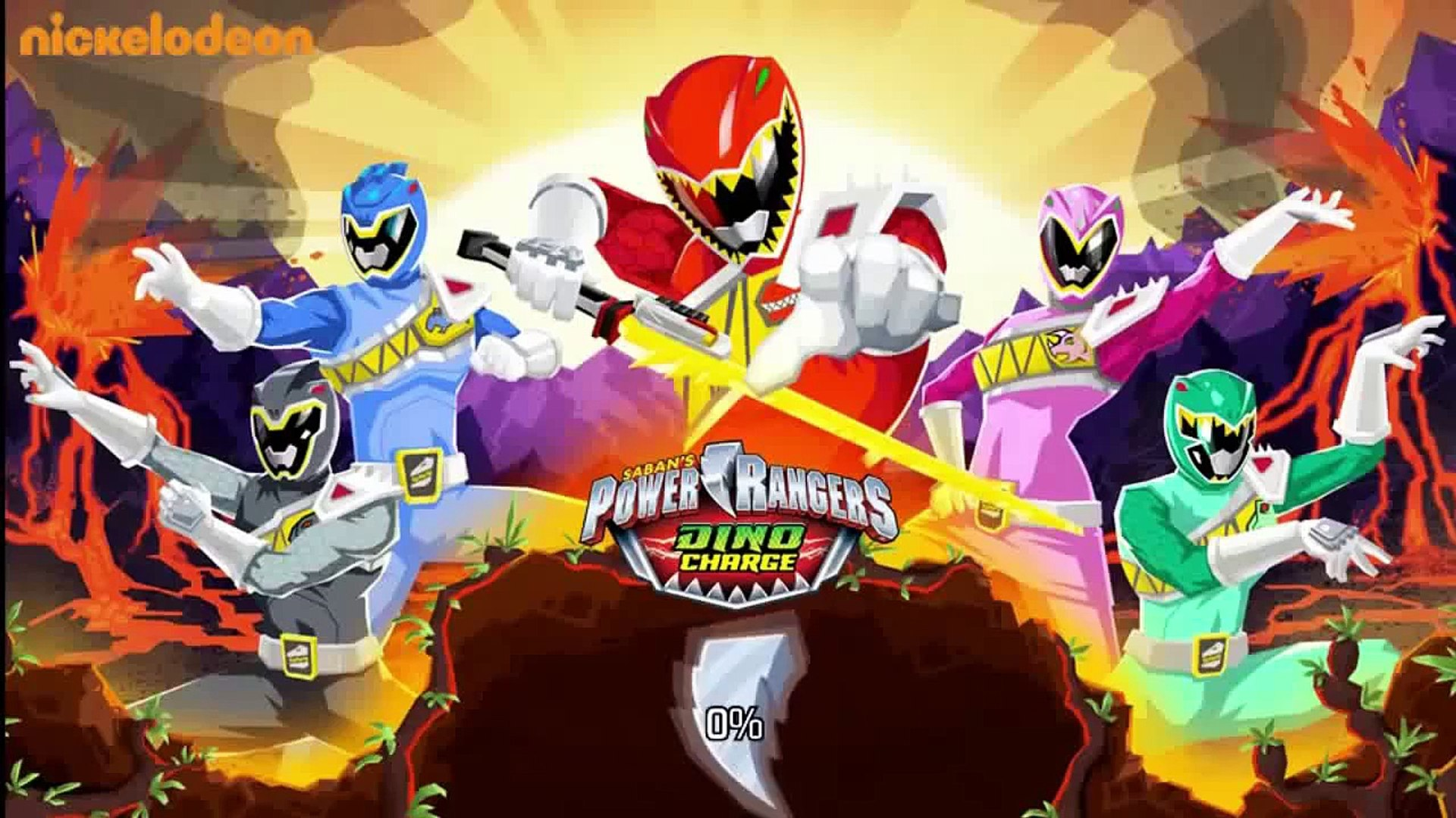 Power Rangers Dino Charge Unleash The Power Game Unlock The