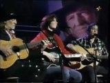 Willie Nelson, Paul Simon & Edie Brickell   Blue Eyes Crying In The Rain