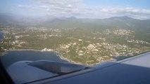 Atterrissage Airbus A319 Air France à Ajaccio