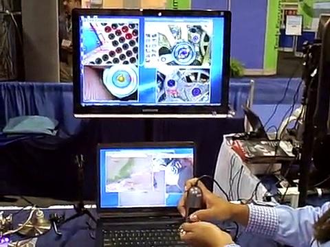 BigC Trade Show Demo Dino-Lite USB Models