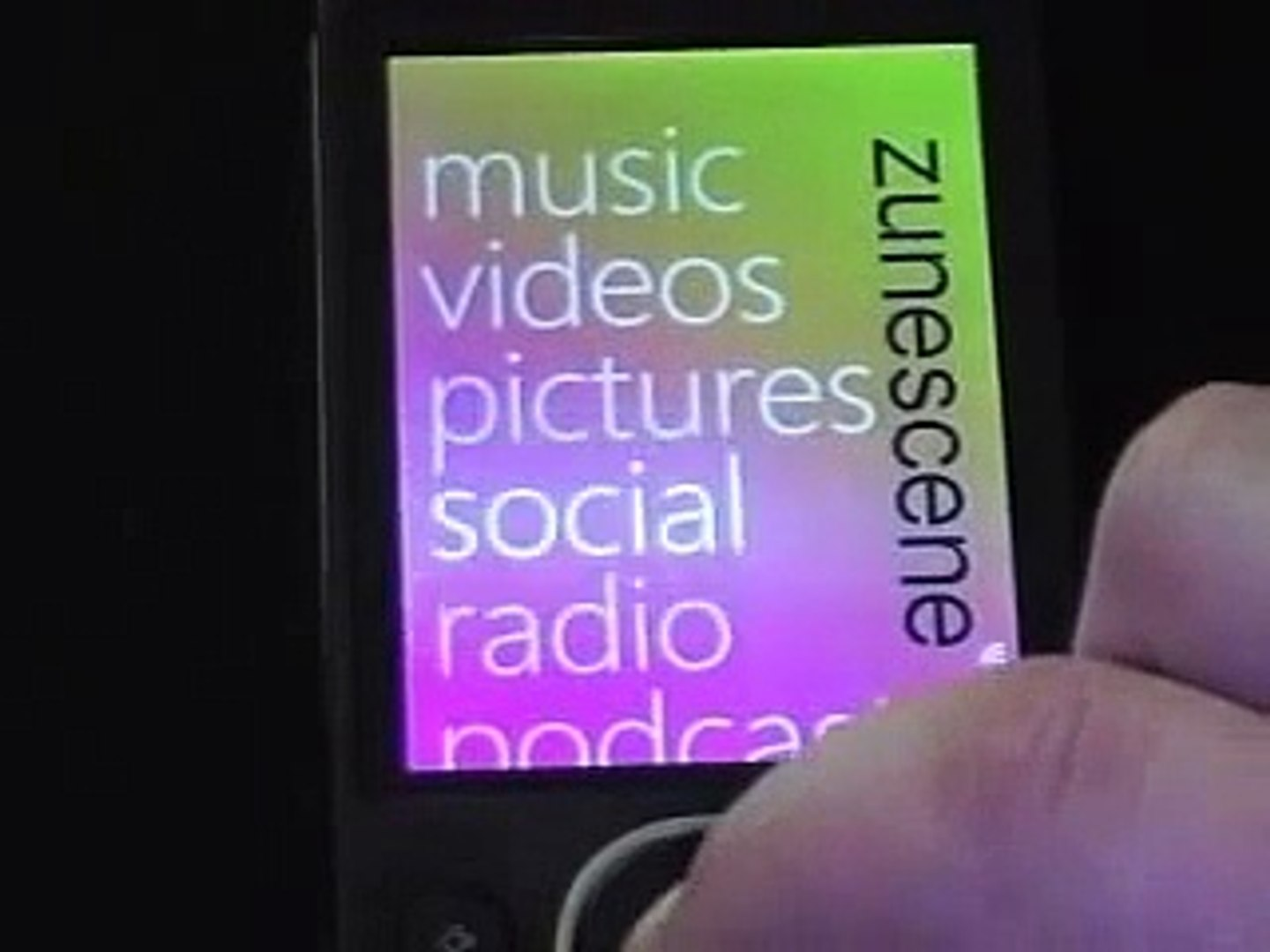 Zune 80 Review - 80 gb