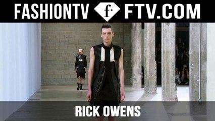Rick Owens Spring/Summer 2016 Show | Paris Men's Fashion Week | FashionTV