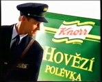 Reklama/Commercial/Werbung - Instantní polévky Knorr (1998) CZ