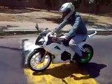 Moto club R1 Valencia rodando con club R1 Aragua