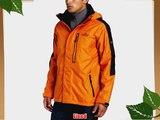 Bear Grylls by Craghoppers Men's Bear Mountain Waterproof Jacket - Survival Orange Small