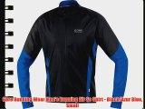 Gore Running Wear Men's Running Air So Shirt - Black/Azur Blue Small