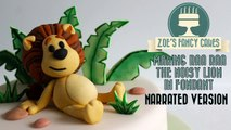 Raa Raa the Noisy Lion Cake (Narrated Version) How To Tutorial Zoes Fancy Cakes