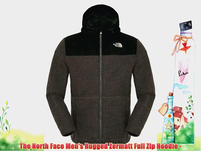 3dcee0fd9 The North Face Men's Rugged Zermatt Full Zip Hoodie -