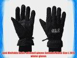 Jack Wolfskin Basic softshell gloves Softshell black Size L 2014 winter gloves
