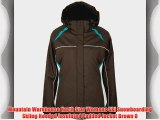Mountain Warehouse North Star Womens Ski Snowboarding Skiing Hooded Insulated Padded Jacket