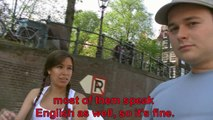 Interview with an au-pair in Spanish, along Amsterdam canals