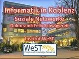 Universität Koblenz - Landau - Felix Schwagereit - Soziale Netzwerke