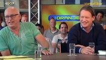 VI Oranje (2014) - Kees Jansma schold een scheidsrechter uit voor Nazi