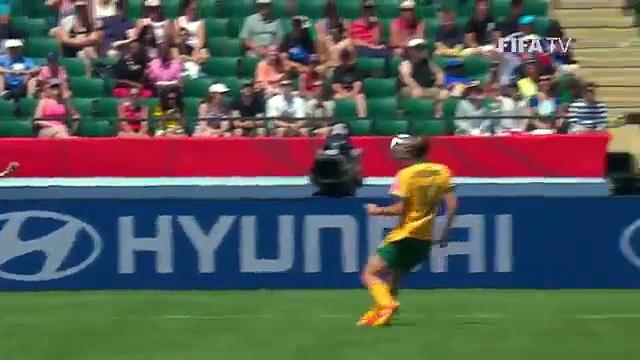 Highlights: Australia v. Japan – FIFA Women's World Cup 2015