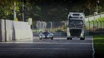 Volvo Trucks - Volvo Trucks vs Koenigsegg  a race between a Volvo FH and a Koenigsegg One 1