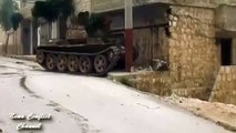 Syria War   MBT tanks bombing  ISIS positions in Syria   Civil war news Scene