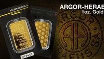 Argor-Heraeus Gold Bars | APMEX