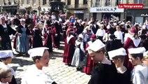 Guingamp. Premières danses pour la Bugale Breizh 2015