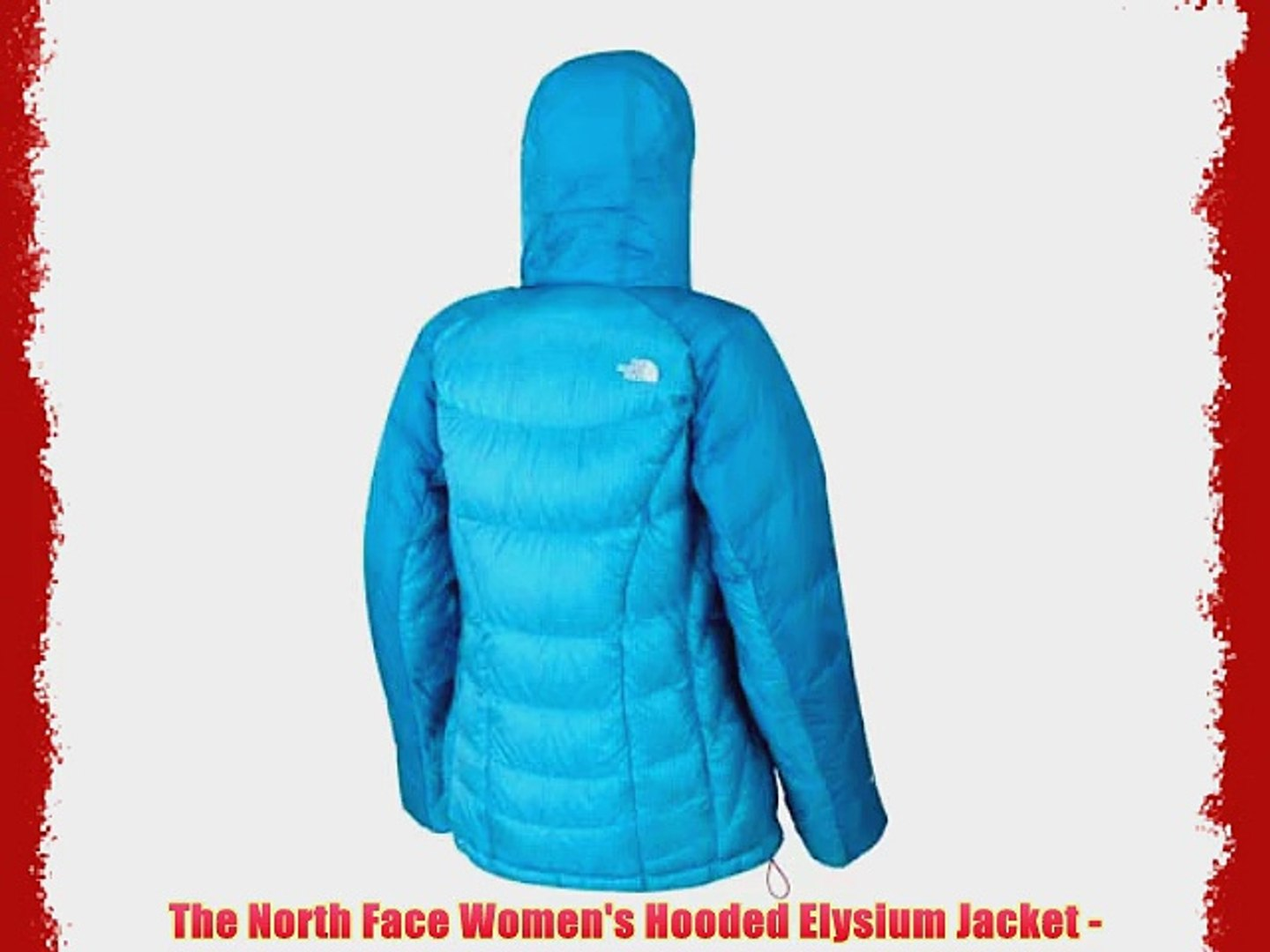65f083bf0 The North Face Women's Hooded Elysium Jacket -