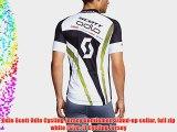 Odlo Scott Odlo Cycling Jersey Gentlemen Stand-up collar full zip white (Size: L) Cycling Jersey