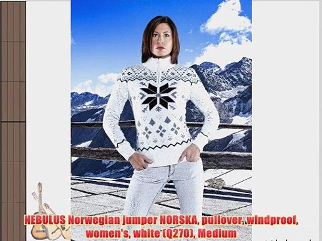 NEBULUS Norwegian jumper NORSKA pullover windproof women's