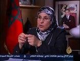 احمد منصور يحرج بسيمة الحقاوي فى برنامج بلا