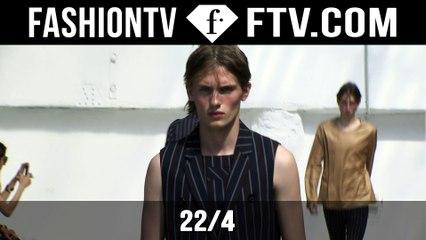 22/4 Spring/Summer 2016 Show | Paris Men's Fashion Week | FashionTV