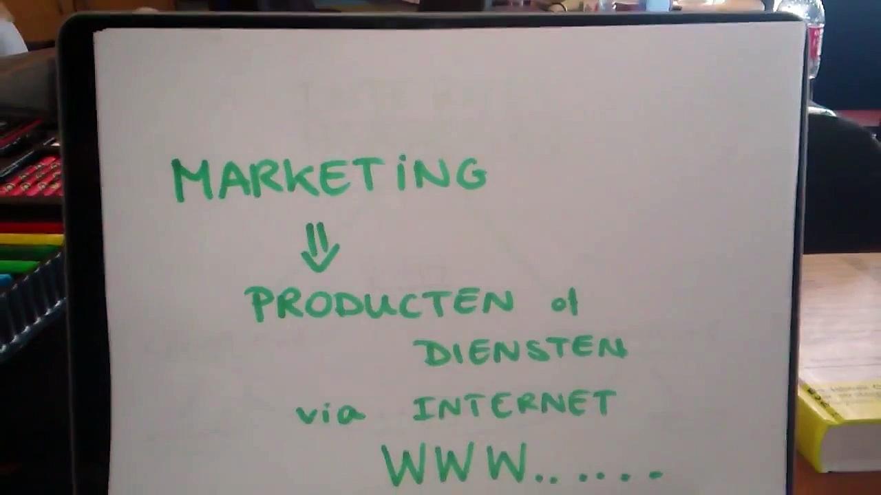 Online marketing communicatie