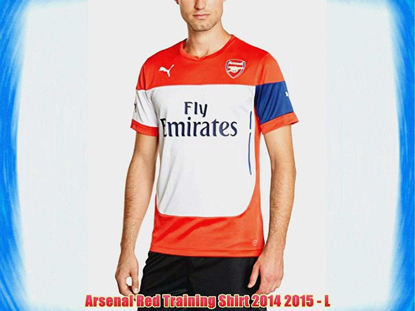 uk availability 858be c60ce Arsenal Red Training Shirt 2014 2015 - L