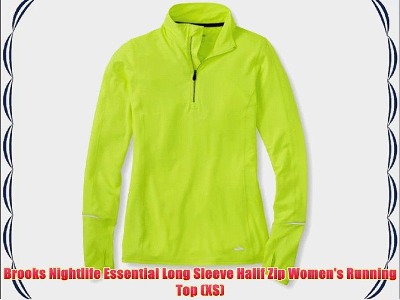 Brooks Brite Green Podium Men/'s XS Short Sleeve Running Shirt