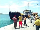 Arrival of the Scientology Volunteer Minister Ship in Port-au-Prince, Haiti
