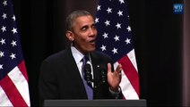 Pres  Obama Rips FOXNews and Republicans for Their Silence on Obamacare's Success