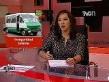 Inseguridad latente -- Asaltos en Microbús