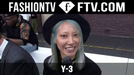 Y-3 Front Row Spring/Summer 2016 | Paris Men's Fashion Week | FashionTV