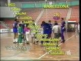 1988/89.- FC Barcelona 20 Vs Atlético Madrid 16 (Semifinal Copa del Rey de Balonmano/Handball)