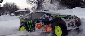Ken Block Gymkhana   1/8 HPI KenBlock WR8 RC - Snow Rally