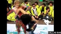 2010 Hapsoo Culture Festival for Han River : Drawing Body Painting Performance