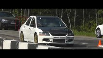 900hp Mitsubishi Lancer EVO 9 AMS Unlim 500+ Training day 23.06.2012 break down