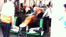 Sahara Force India F1 Aero Test-Conor Daly