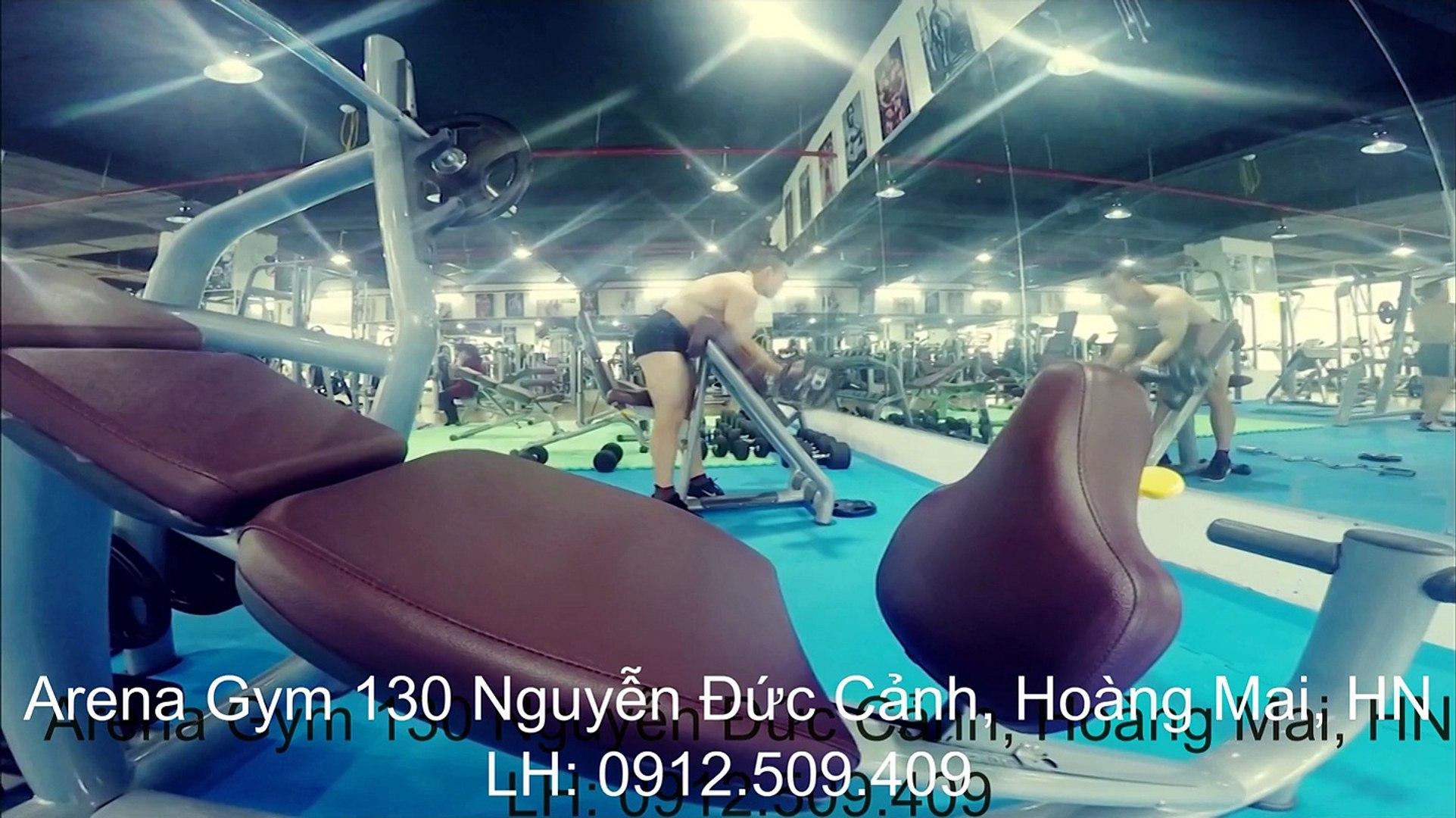 Arena Gym, Phòng tập thể hình, thể hình hà nội, gym, fitness, yoga, aerobic, zumba fitness, phòng tậ