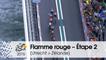Flamme rouge / Last KM - Étape 2 (Utrecht > Zélande) - Tour de France 2015