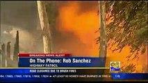 San Diego Fires - Highway Patrol Interview