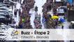 Buzz du jour / Buzz of the day - Bordures sous la pluie - Étape 2 (Utrecht > Zélande) - Tour de France 2015