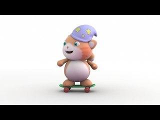Looi the cat on a Skateboard,Looi Shorts for Kids