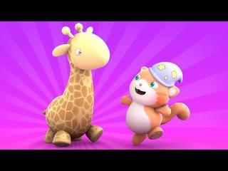 Looi the cat - a Giraffe puzzle present, for kids