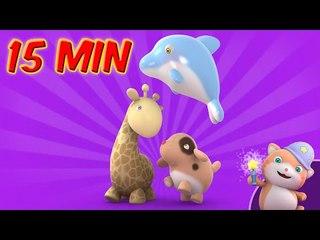 In Looi's  Magic Box- A dolphin, a dog and agiraffe? (for kids)