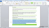 MS Word Aligning and justifying paragraphs