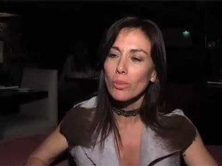 Viviana Saccone, en la cama