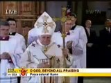 Benedict XVI at St. Patrick's Cathedral-NYC